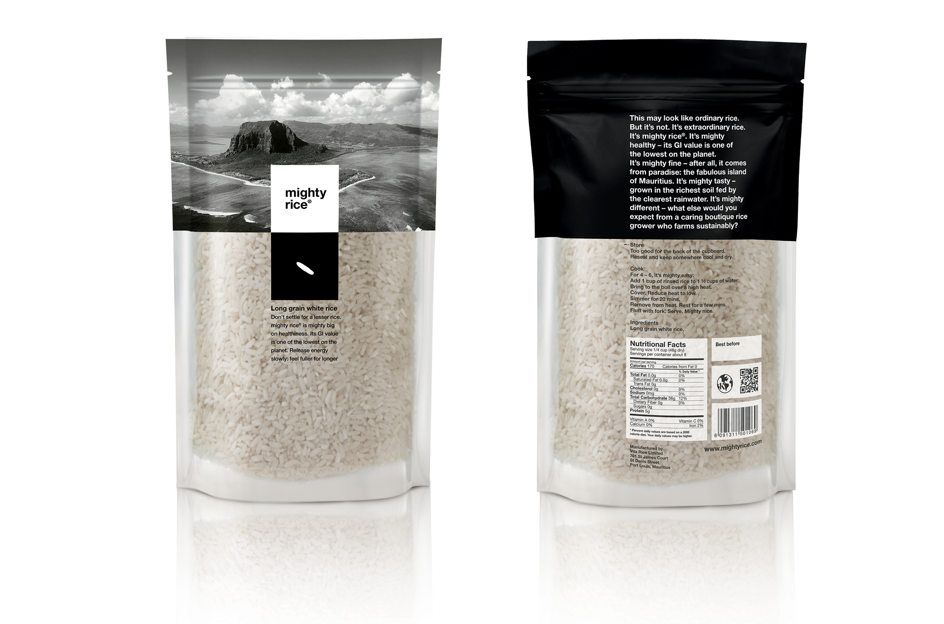 Mighty rice | Nudi o Vestiti?